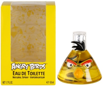 EP Line Angry Birds Yellow Eau de Toillete για παιδιά 50 μλ