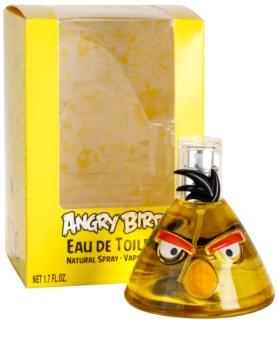 EP Line Angry Birds Yellow eau de toilette pentru copii 50 ml