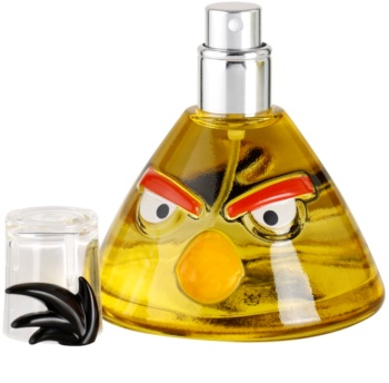 ep line angry birds yellow eau de toilette f r kinder 50 ml. Black Bedroom Furniture Sets. Home Design Ideas