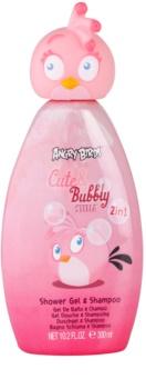 EP Line Angry Birds Cute Bubbly champô e gel de duche 2 em 1