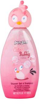 EP Line Angry Birds Cute Bubbly szampon i żel pod prysznic 2 w 1