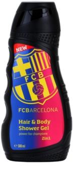 EP Line FC Barcelona gel de ducha y champú 2en1