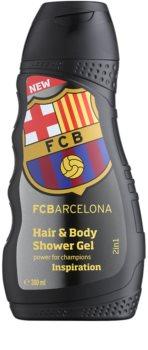 EP Line FC Barcelona Inspiration champú y gel de ducha 2 en 1
