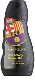 EP Line FC Barcelona Inspiration šampon a sprchový gel 2 v 1