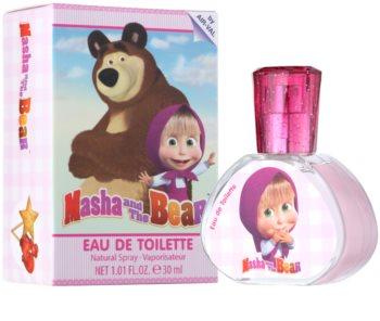 EP Line Masha and The Bear Eau de Toillete για παιδιά 30 μλ