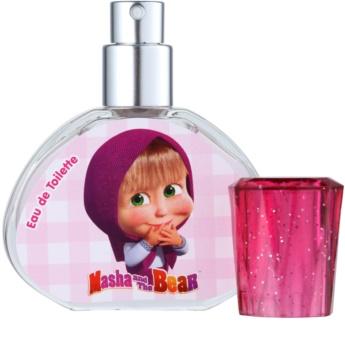 EP Line Masha and The Bear eau de toilette pentru copii 30 ml