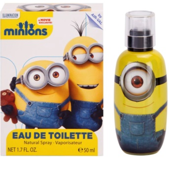ep line minions minions eau de toilette f r kinder 50 ml. Black Bedroom Furniture Sets. Home Design Ideas