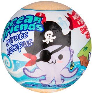 EP Line Ocean Friends kula musująca do kąpieli z figurką