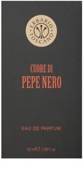 Erbario Toscano Black Pepper Eau de Parfum για άνδρες 50 μλ