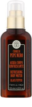 Erbario Toscano Black Pepper spray corporel pour homme 125 ml