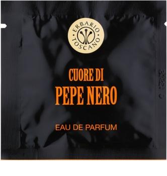 Erbario Toscano Black Pepper toalhitas perfumadas para homens 7 un.