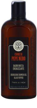 Erbario Toscano Black Pepper gel de banho energizante