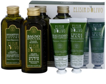 Erbario Toscano Elisir D'Olivo zestaw kosmetyków II.
