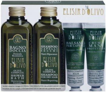 Erbario Toscano Elisir D'Olivo kosmetická sada II.