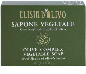 Erbario Toscano Elisir D'Olivo tuhé mýdlo s olivovým olejem