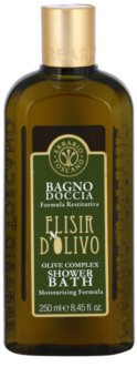 Erbario Toscano Elisir D'Olivo gel bain et douche pour un effet naturel