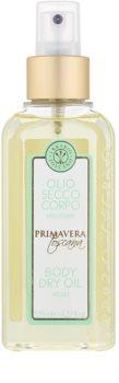 Erbario Toscano Primavera Toscana suchý telový olej s hydratačným účinkom