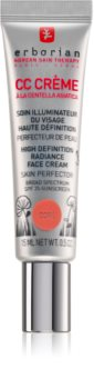 Erborian CC Crème Centella Asiatica Radiance Face Cream Skin Perfector with SPF 25 Small Pack