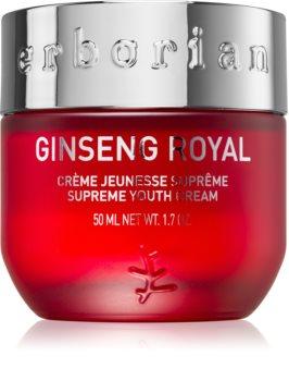 Erborian Ginseng Royal vyhladzujúci pleťový krém pre korekciu známok starnutia