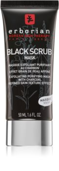 Erborian Black Scrub Mask Exfoliating and Cleansing Face Mask