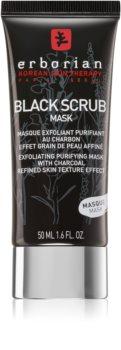 Erborian Black Scrub Mask maschera viso esfoliante detergente