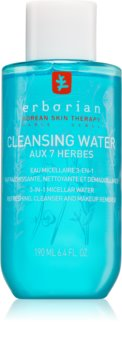 Erborian 7 Herbs Cleansing Water Micellar Cleansing Water 3 in 1