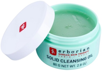Erborian Detox Solid Cleansing Oil Makeup Removing Cleansing Balm 2 In 1