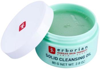 Erborian Detox Solid Cleansing Oil odličovací a čisticí balzám 2v1