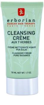 Erborian 7 Herbs creme de limpeza para pele radiante