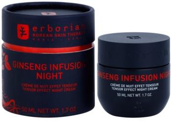Erborian Ginseng Infusion Aktivcreme für die Nacht zur Festigung der Haut
