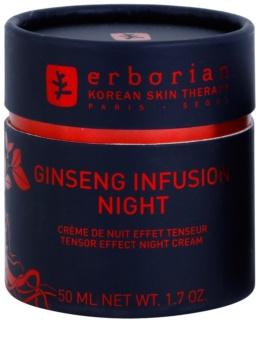 Erborian Ginseng Infusion crème de nuit active pour raffermir le visage