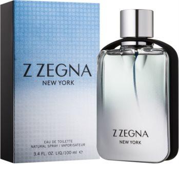 Ermenegildo Zegna Z Zegna New York toaletní voda pro muže 100 ml
