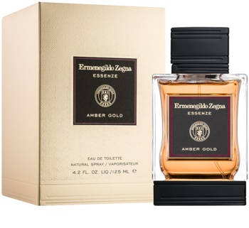 Ermenegildo Zegna Essenze Collection: Amber Gold Eau de Toilette para homens 125 ml