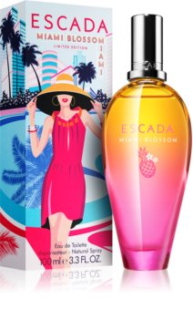 Escada Miami Blossom Eau de Toilette for Women 100 ml