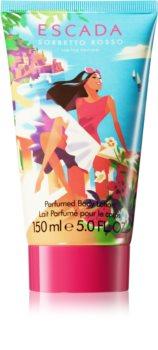 Escada Sorbetto Rosso tělové mléko pro ženy 150 ml