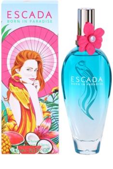Escada Born in Paradise toaletní voda pro ženy 100 ml