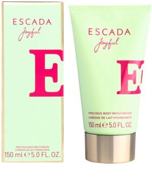 Escada Joyful telové mlieko pre ženy 150 ml