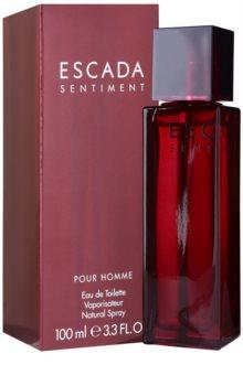 Escada Sentiment pour Homme toaletna voda za muškarce 100 ml