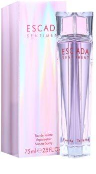 Escada Sentiment toaletní voda pro ženy 75 ml