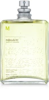 Escentric Molecules Molecule 03 eau de toilette mixte 100 ml