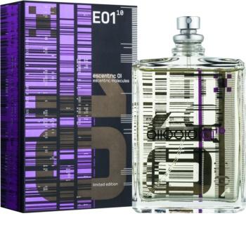 Escentric Molecules Escentric 01 toaletní voda unisex 100 ml Limitovaná edice + kovové pouzdro