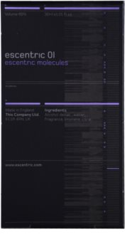 Escentric Molecules Escentric 01 Eau de Toilette unisex 30 ml Refill With Atomizer