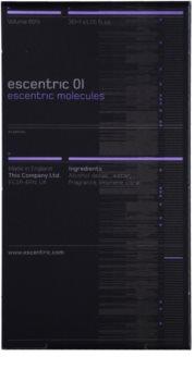 Escentric Molecules Escentric 01 eau de toilette unisex 30 ml ricarica con diffusore