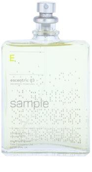 Escentric Molecules Escentric 03 toaletní voda tester unisex 100 ml