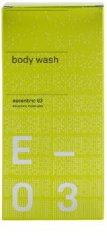 Escentric Molecules Escentric 03 gel za prhanje uniseks 200 ml