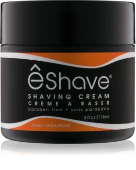 eShave Orange Sandalwood crema de barbierit