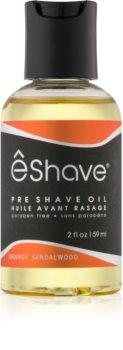 eShave Orange Sandalwood olej před holením