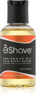 eShave Orange Sandalwood olje pred britjem