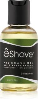 eShave White Tea huile pré-rasage