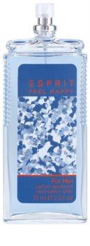 Esprit Feel Happy for Men Deo mit Zerstäuber für Herren 75 ml